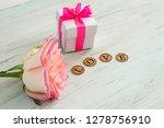 valentine's day background.... | Shutterstock . vector #1278756910