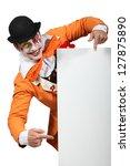Man Dressed Up As A Joker...