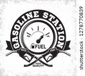 vintage petrol station logo... | Shutterstock .eps vector #1278770839