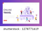 booking vacation bus ticket... | Shutterstock .eps vector #1278771619