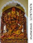 kali god statue at mehrangarh...   Shutterstock . vector #1278776476