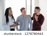 gay male couple having... | Shutterstock . vector #1278780463