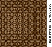 organic background. seamless... | Shutterstock .eps vector #1278792580