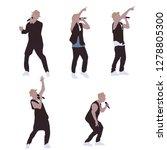 popular singer super star...   Shutterstock .eps vector #1278805300