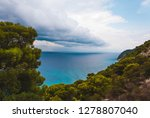 dramatic clouds and  stormy...   Shutterstock . vector #1278807040