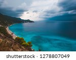 dramatic clouds and  stormy...   Shutterstock . vector #1278807049