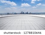 panoramic skyline and modern... | Shutterstock . vector #1278810646
