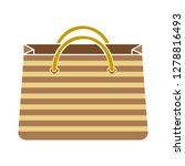 shopping bag icon sale sign... | Shutterstock .eps vector #1278816493
