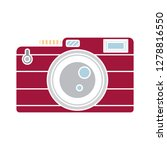 photo camera icon lens symbol... | Shutterstock .eps vector #1278816550