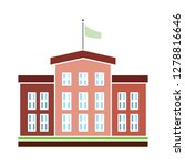 school building icon university ... | Shutterstock .eps vector #1278816646