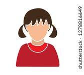 female user icon girl icon...   Shutterstock .eps vector #1278816649