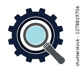 gear magnifier icon... | Shutterstock .eps vector #1278819706