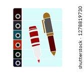 survey icon   check list symbol ...   Shutterstock .eps vector #1278819730