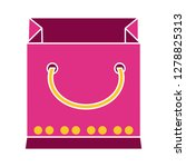 shopping bag icon sale sign... | Shutterstock .eps vector #1278825313