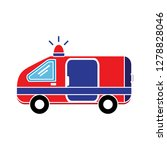ambulance emergency icon... | Shutterstock .eps vector #1278828046