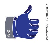 like   thumb up icon social... | Shutterstock .eps vector #1278828076