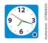 clock alarm icon alarm sign...   Shutterstock .eps vector #1278828223