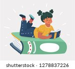 vector cartoon illustration of... | Shutterstock .eps vector #1278837226