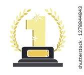 award winner icon   winner flat ... | Shutterstock .eps vector #1278844843