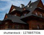 traditional highlander house in ... | Shutterstock . vector #1278857536