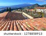 mount etna volcano viewed from...   Shutterstock . vector #1278858913