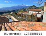 mount etna volcano viewed from...   Shutterstock . vector #1278858916