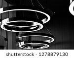 abstract interior fragment.... | Shutterstock . vector #1278879130