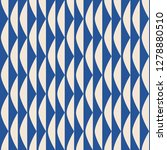seamless retro pattern with... | Shutterstock .eps vector #1278880510