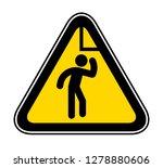 triangular yellow warning... | Shutterstock .eps vector #1278880606