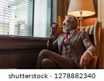 mature experienced male... | Shutterstock . vector #1278882340
