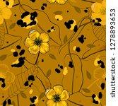 modern animal skin prints.... | Shutterstock .eps vector #1278893653