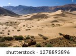 sand dunes in a desert area of... | Shutterstock . vector #1278893896