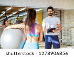 picture of personal fitness... | Shutterstock . vector #1278906856