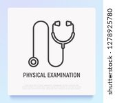 stethoscope for patient... | Shutterstock .eps vector #1278925780