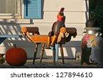halloween decoration along king'... | Shutterstock . vector #127894610