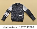black leather punk fashion... | Shutterstock . vector #1278947083
