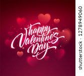 happy valentines day... | Shutterstock .eps vector #1278949060