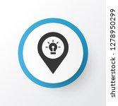 destination icon symbol.... | Shutterstock .eps vector #1278950299