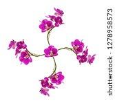 Pink Orchid Flower Form Windmill - Fine Art prints