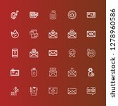 editable 25 client icons for... | Shutterstock .eps vector #1278960586