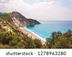 beautiful milos beach...   Shutterstock . vector #1278963280
