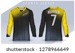 t shirt sport design template ...   Shutterstock .eps vector #1278966649