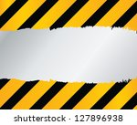 under construction | Shutterstock . vector #127896938