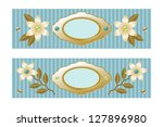 decorative element to mark text ... | Shutterstock .eps vector #127896980