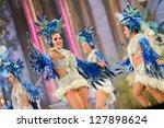 las palmas   spain   february 8 ... | Shutterstock . vector #127898624