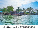 the small fishing village with... | Shutterstock . vector #1278986806
