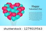illustration love and valentine'... | Shutterstock .eps vector #1279019563