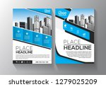 brochure template layout  cover ... | Shutterstock .eps vector #1279025209