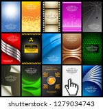 abstract background with... | Shutterstock .eps vector #1279034743