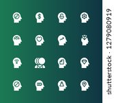 mental icon set. collection of... | Shutterstock .eps vector #1279080919